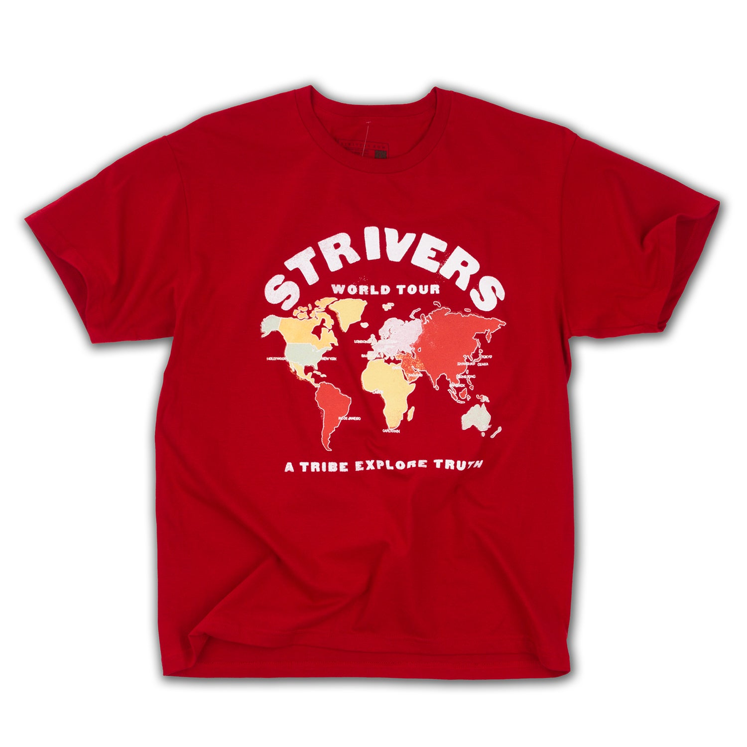 A World Tour SS Tee (Sport Scarlet Red)