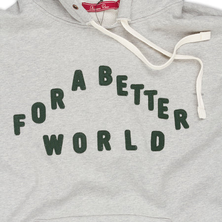 Better World Hoodie (Heather Grey)