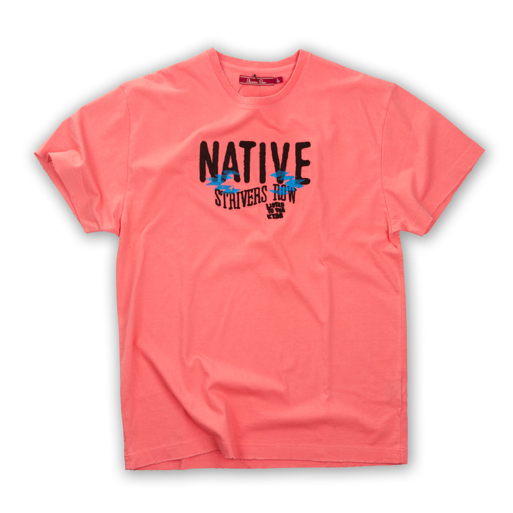 Native SS Tee (Tea Rose)