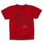 For A Better World SS Tee (Sport Scarlet Red)