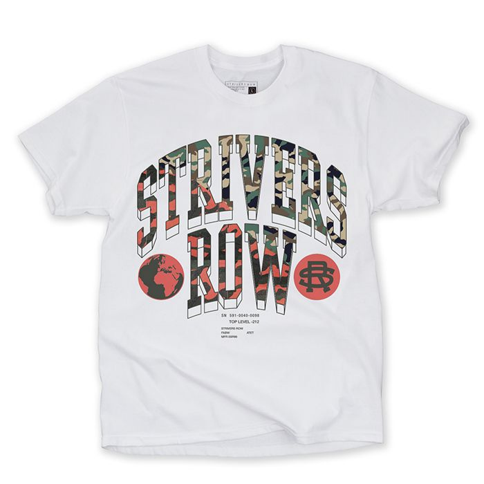Deep Cover SS Tee (White)