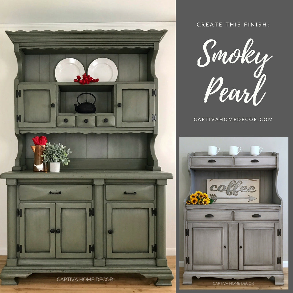 The Smoky Pearl Furniture Painting Technique