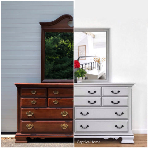 Before & After Furniture Painting Expert Advice Consultations
