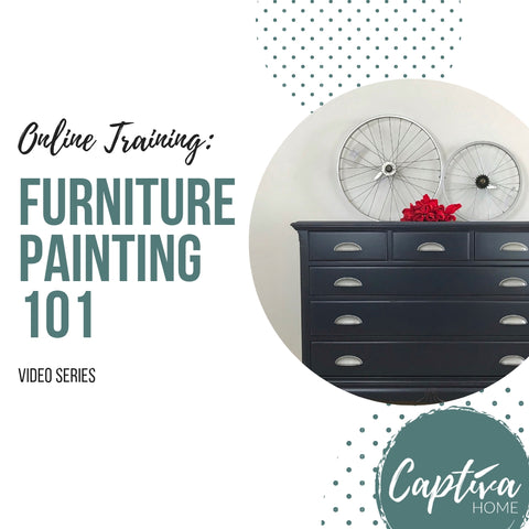 Furniture Painting 101 - Video Training