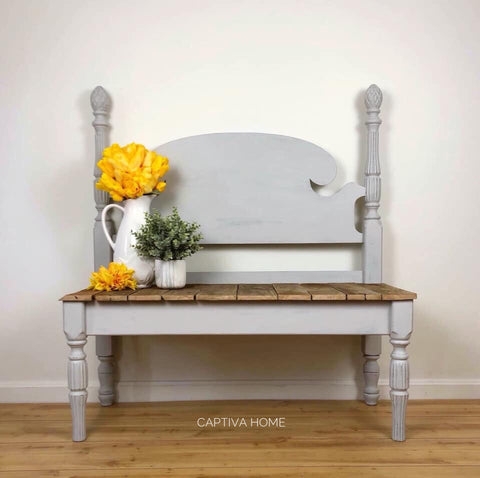 Bed Frame Bench- Exterior friendly!