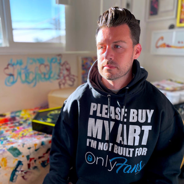 Hoodies 4 Homeless charity program by Carini Arts