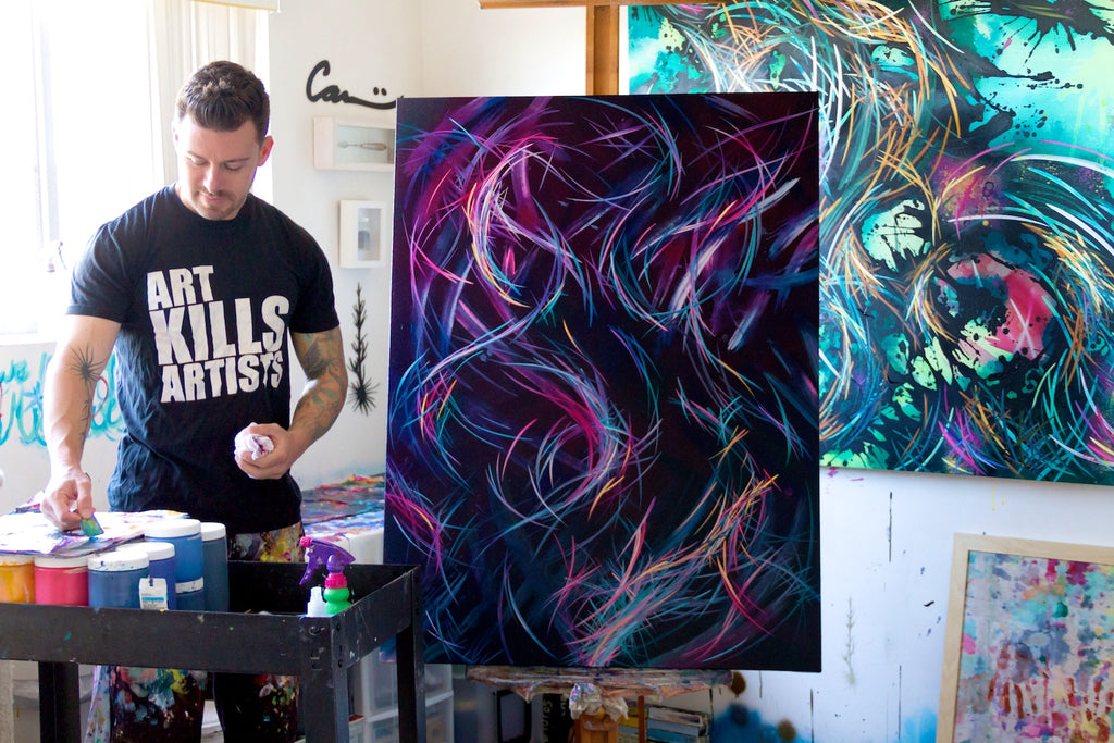 Painting & Vino with Michael Carini of Carini Arts