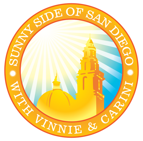 Sunny Side of San Diego Podcast with Michael Carini and Vinnie Enriquez