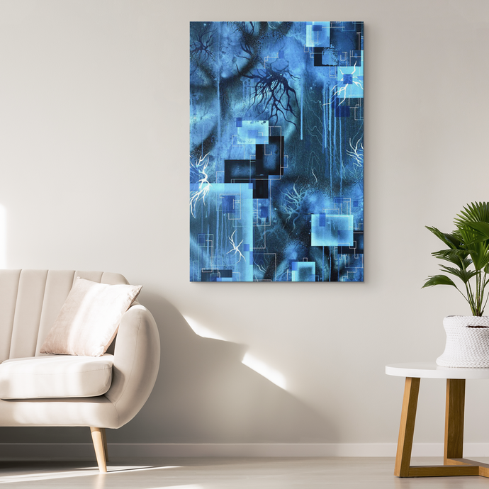 beautiful canvas art and decor