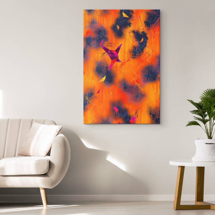 set decor and canvas art from michael carini