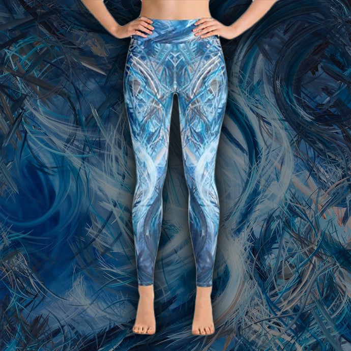 Consumption Of The White Whale (Ahadevale) Leggings - Carini Arts