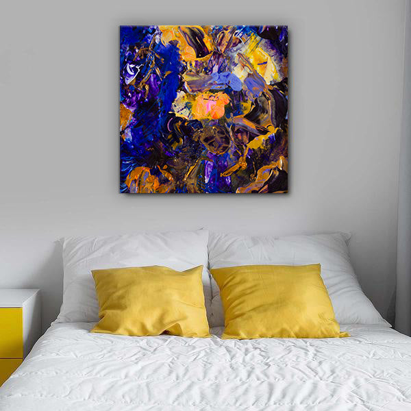 Beautiful Accidents Purple Glow Mix Canvas - Carini Arts