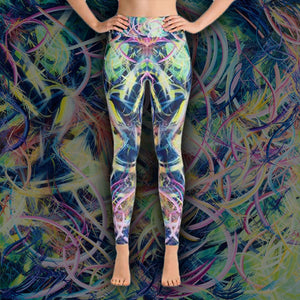 The Day Pandora Set Me Free (Misteriora) Leggings - Acrylic Alchemy