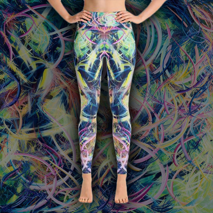 The Day Pandora Set Me Free (Misteriora) Leggings - Carini Arts