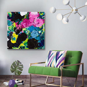 Beautiful Accidents Forest Frenzy Mix Canvas - Carini Arts