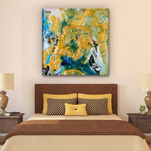 Load image into Gallery viewer, Beautiful Accidents Acrylic Alchemy Mix Canvas - Carini Arts