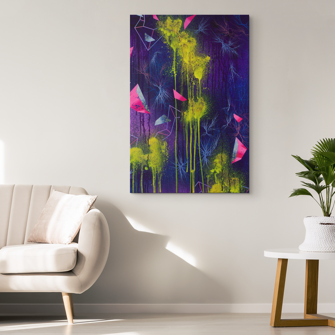 commercial decor and canvas art