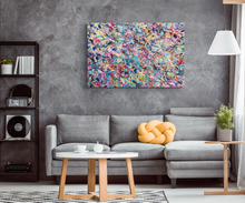Load image into Gallery viewer, 10 Year Table Canvas - Carini Arts