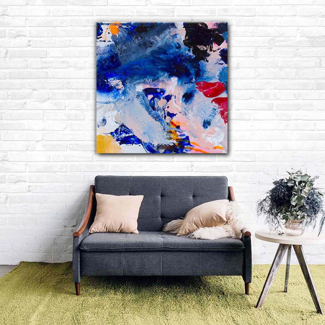Beautiful Accidents Inner Peace Mix Canvas - Carini Arts