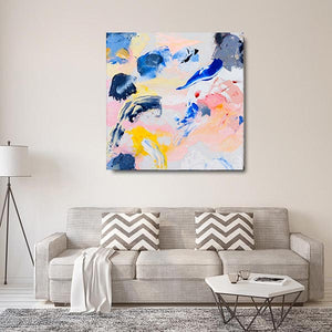 Beautiful Accident Unexpected Splendor Mix Canvas - Carini Arts