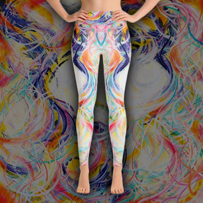 Intimacy Of The Infinites (Intimafancy) Leggings - Carini Arts