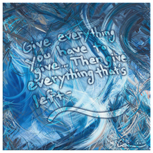 Load image into Gallery viewer, Consumption Of The White Whale (Ahadevale) Quote Canvas - Carini Arts