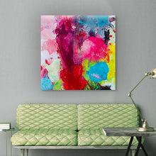 Load image into Gallery viewer, Beautiful Accidents Radiant Chaos Mix Canvas - Carini Arts