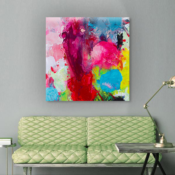 Beautiful Accidents Radiant Chaos Mix Canvas - Carini Arts