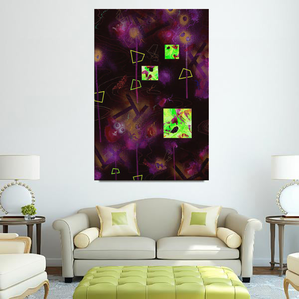 King Nothing And The Discovery Of The Lost Venus (For SAMO) Canvas - Carini Arts