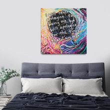 Load image into Gallery viewer, Astranomelly Quote Canvas - Carini Arts