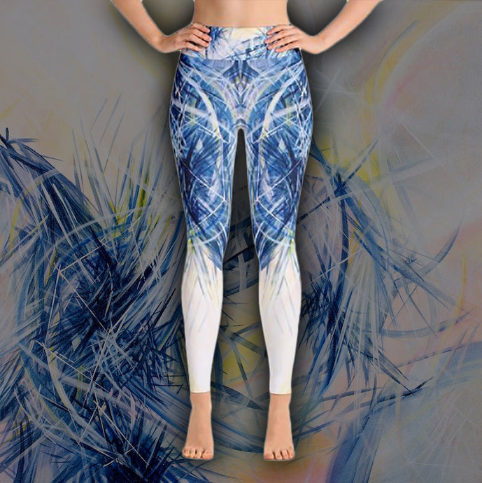 Revelations And Regenesis Leggings - Carini Arts