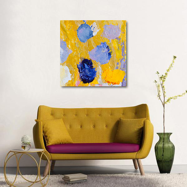 Beautiful Accidents Complementary Mix Canvas - Carini Arts