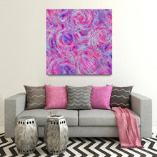 Load image into Gallery viewer, Regenaissance (Purple Base) Canvas - Acrylic Alchemy