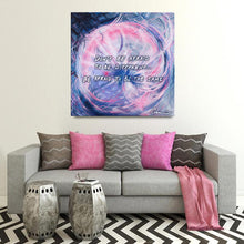 Load image into Gallery viewer, The Soliloquy Of Stranger (Straliloquy) Quote Canvas - Acrylic Alchemy