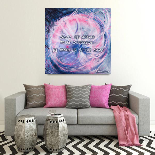 The Soliloquy Of Stranger (Straliloquy) Quote Canvas - Carini Arts