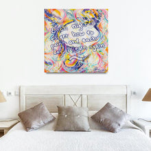 Load image into Gallery viewer, Intimacy Of The Infinites (Intimafancy) Quote Canvas - Carini Arts