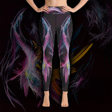 Load image into Gallery viewer, Fractured Realities And Dreams Brought To Light Leggings - Acrylic Alchemy