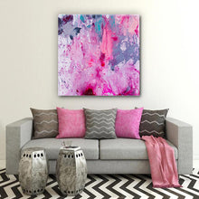 Load image into Gallery viewer, Beautiful Accidents Pink Dream Mix Canvas - Carini Arts