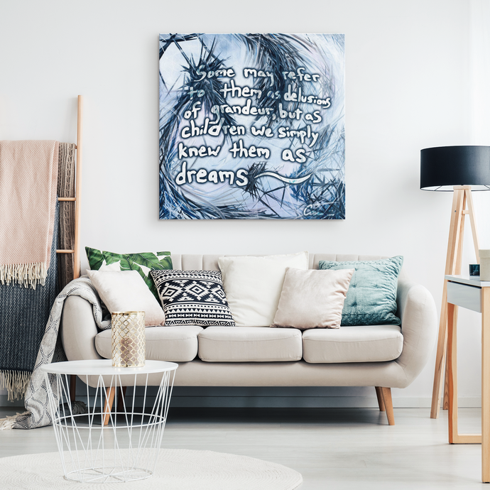 inspirational canvas art and decor