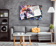 Load image into Gallery viewer, I Used To Paint In An Effort To Escape Quote Canvas - Carini Arts