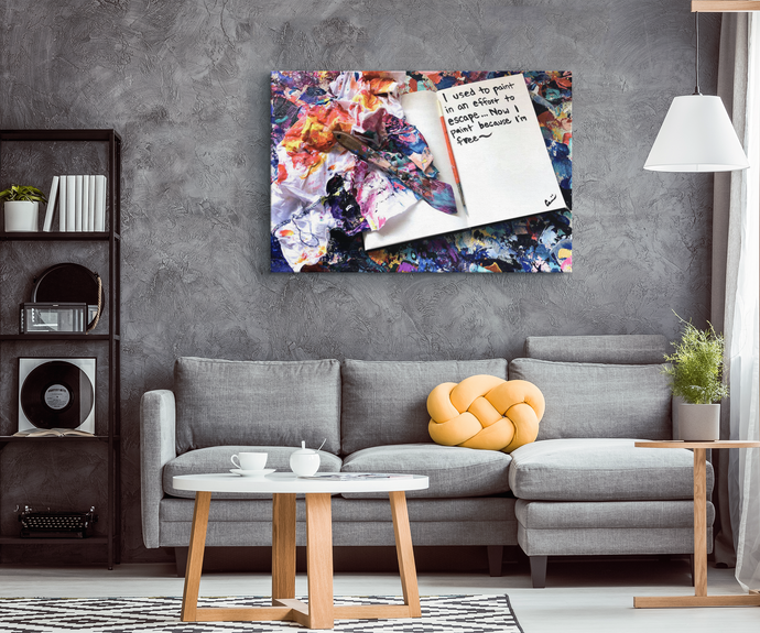 inspirational canvas art and decor by michael carini