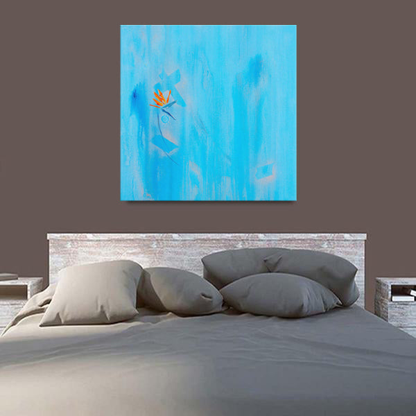 Silver Linings For Birds Of Paradise Canvas - Carini Arts