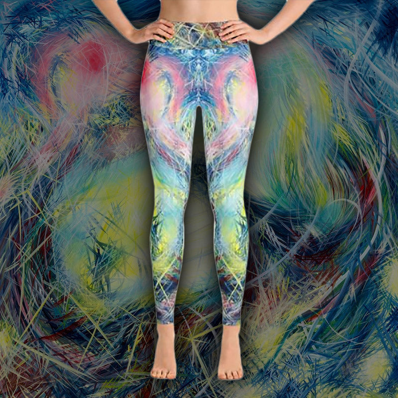 Getting Back To Where I've Never Been (Coeurd'aleuer) Leggings - Acrylic Alchemy