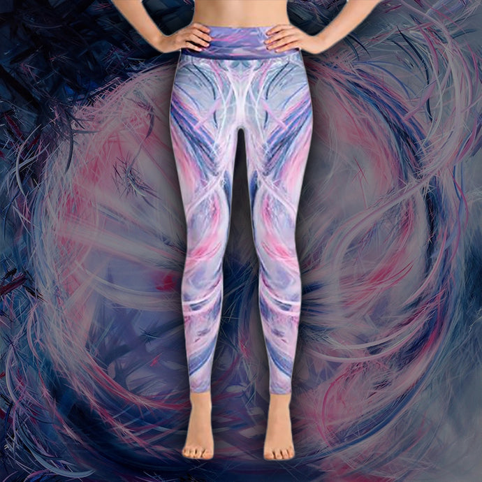 The Soliloquy Of Stranger (Straliloquy) Leggings - Carini Arts