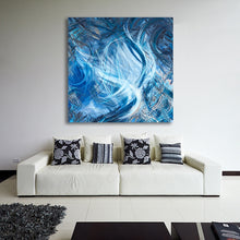 Load image into Gallery viewer, Consumption Of The White Whale (Ahadevale) Canvas - Acrylic Alchemy