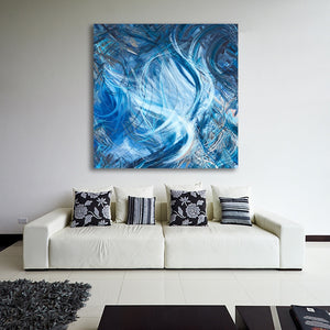 Consumption Of The White Whale (Ahadevale) Canvas - Acrylic Alchemy