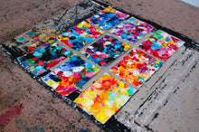 Load image into Gallery viewer, Beautiful Accidents Fire And Water Mix Canvas - Acrylic Alchemy