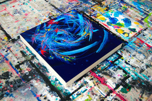 Holding On To Letting Go Canvas - Acrylic Alchemy