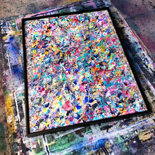 Load image into Gallery viewer, 10 Year Table Canvas - Acrylic Alchemy