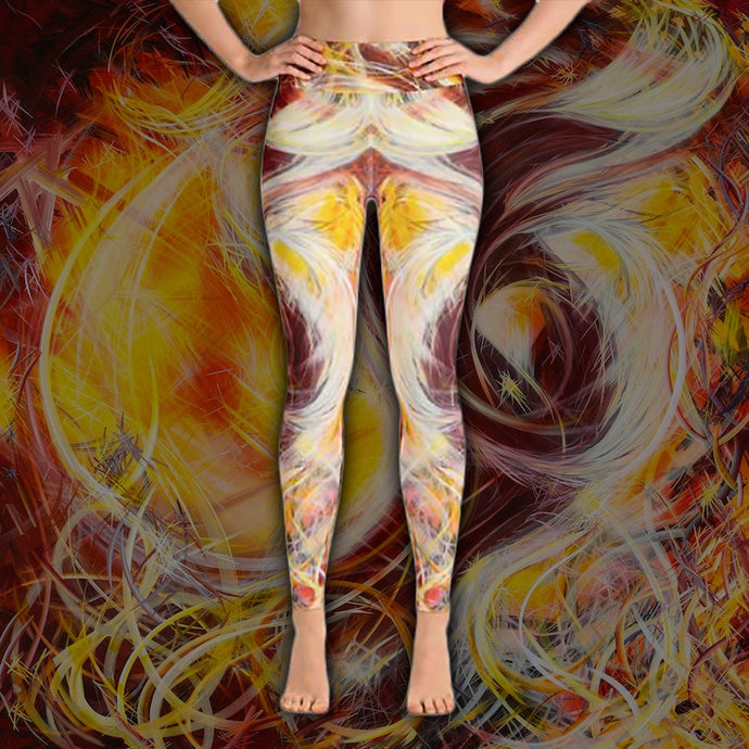Reconstruction Of The Chimera (Zachericle) Leggings - Carini Arts